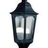 Elstead Parish PR7 Outdoor Black Half Lantern